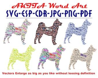 Word dog | Etsy