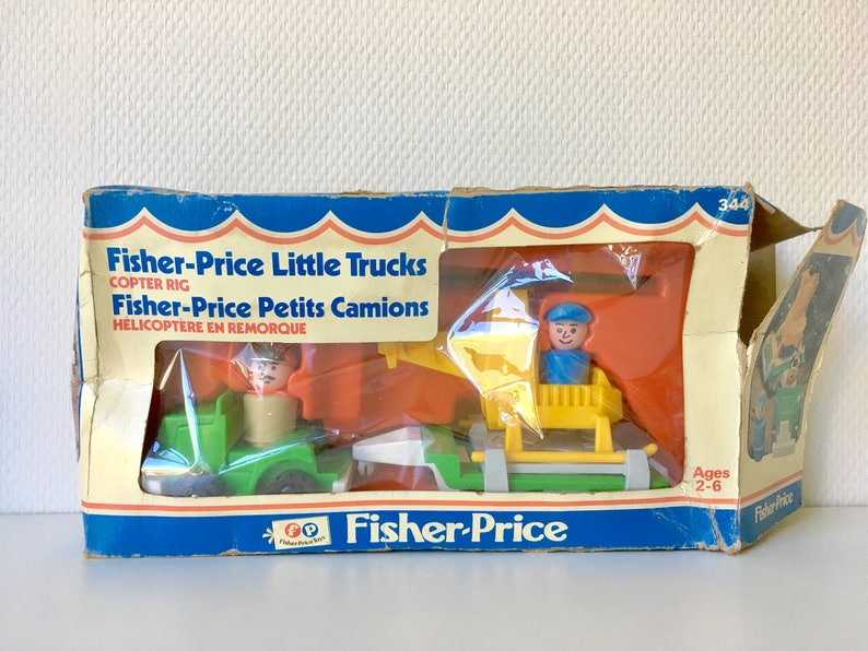 VintageEtsy People Price Hélicoptère Fisher Little 0kPNnwX8O