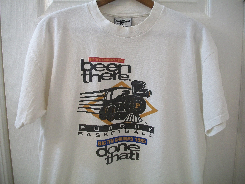 92276231358 Vintage 90s Purdue Boilermakers T Shirt XL University | Etsy