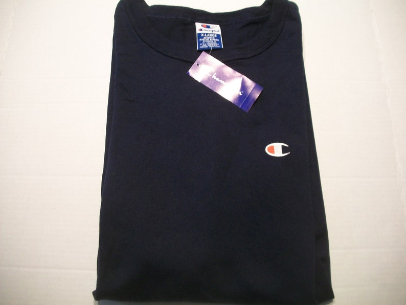 4ecb81f6 Vintage 90s Champion Brand T tee Shirt XL NWT New With Tags   Etsy
