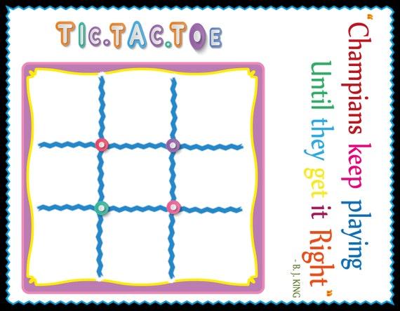 picture regarding Tic Tac Toe Board Printable referred to as Printable Clic Tic-Tac-Toe Board Video game, Spouse and children sport, Montessori Children video game, Puzzle, Prompt Down load