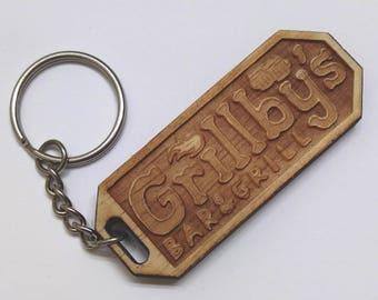 Grillby's Keychain