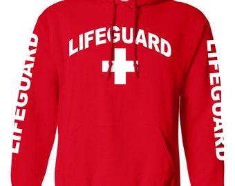 2808b99c7e6 Lifeguard Red Hoodie