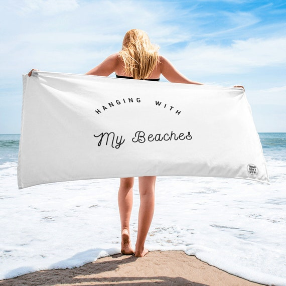 Hanging with my Beaches Towel