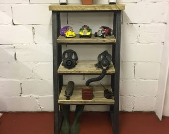 Industrial chunky shelving unit