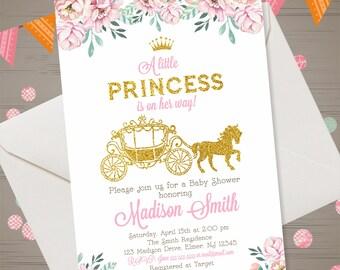 Princess Baby Shower Invitation ...
