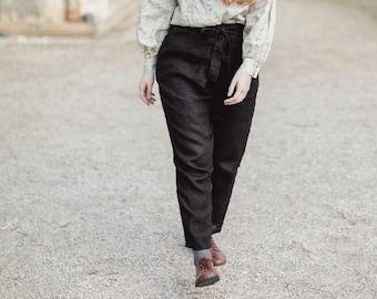 Warm Linen Pants Mollie
