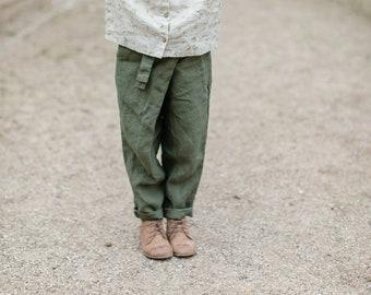 Linen Pants Mollie for Kids