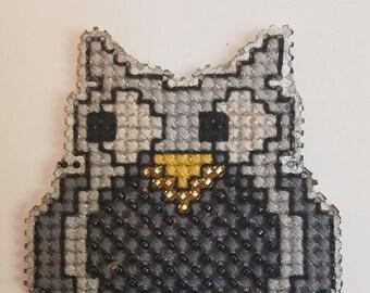 Owl Bead Cross Stitch