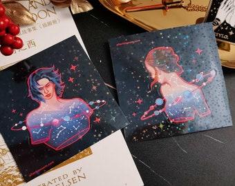 Star Children Die-cut Sticker