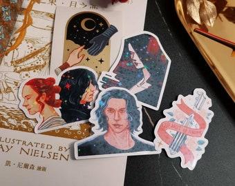 Reylo August New Stickers