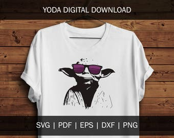 1217ef72 Yoda File | Star Wars Svg File Png Cricut Cut File Cutting File Silhouette  File Star Wars Yoda Darth Vader Luke Jedi Master