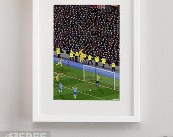 9f75c309deb Crystal Palace - Play-off Semi Final 2013 Print