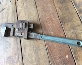 Vintage Powr-Kraft 14in. Pipe Wrench