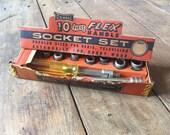 Vintage Oxwall 1 4 Socket Set