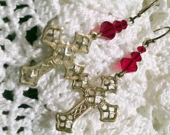 Siam and Silver Crosses