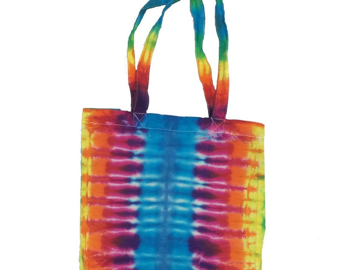 Tie Dye Tote Bag - Stripes