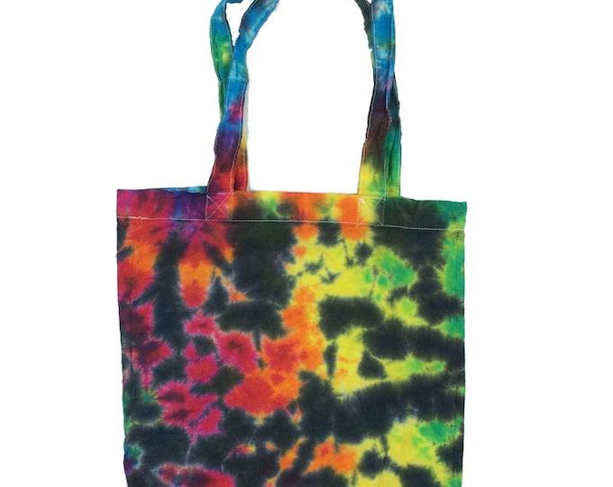 Tie Dye Tote Bag - Rainbow
