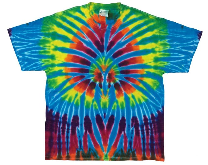 Tie Dye T-Shirt - Spider Turquoise