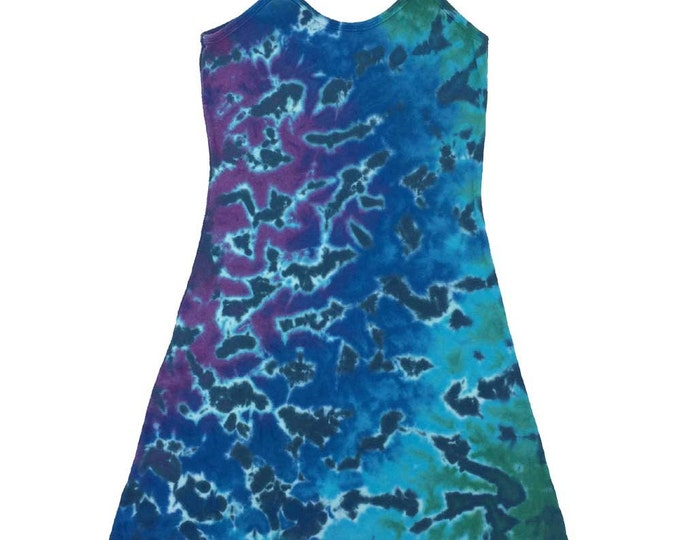 Tie Dye Dress - Crinkle 2