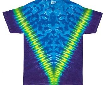 Tie Dye T-Shirt - V Plum