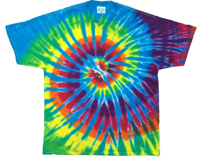 Tie Dye T-Shirt - Spiral Turquoise