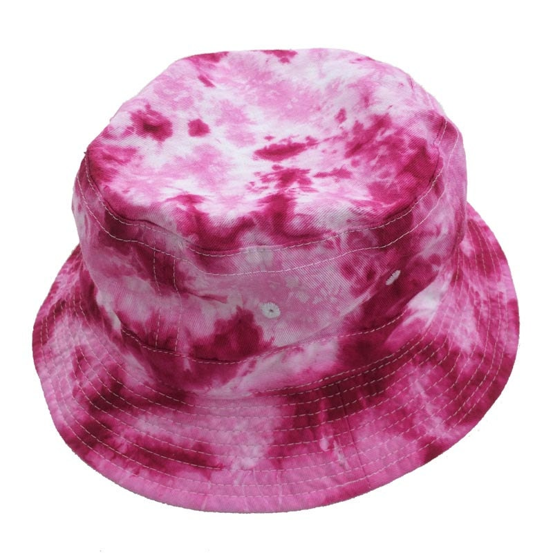 315c4427161 Tie Dye Bucket Hat - Pinks