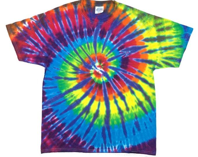 Tie Dye T-Shirt - Spiral Plum