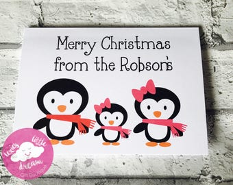 personalised Christmas cards, Christmas card