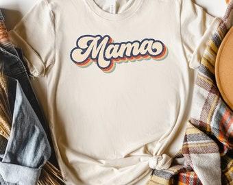 Retro Mama Shirt Unisex, Retro Mom Shirt, Vintage Mom Shirt, Rustic Mom Shirt, Mom Tees, Mom Gift, Mom Graphic Tees, Trendy Mom