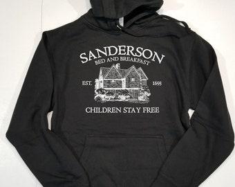 Sanderson Bed and Breakfast Sweatshirt Hoodie Unisex, Halloween Hoodie, Halloween Sweatshirt, Fall Shirt, Fall Sweatshirt, Funny