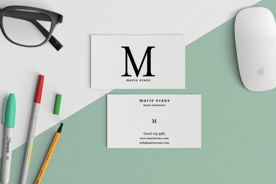 Carte De Visite Professionnelle Design