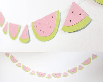 Watermelon Banner - Summer Party Decoration