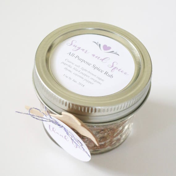 custom sticker labels cursive text favor labels for jars etsy