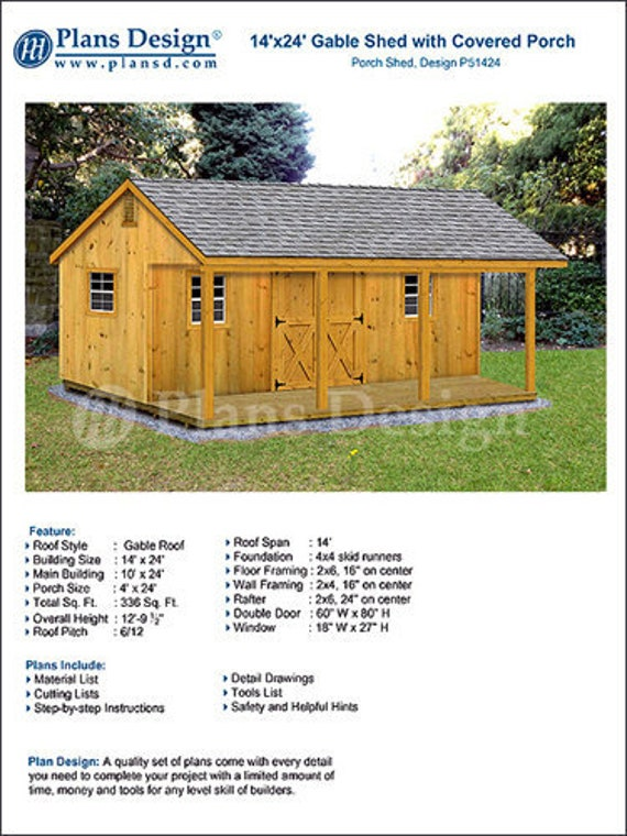 14' X 24' Shed with Porch Guest House Cottage or   Etsy  X Building Plans on building codes, building flowcharts, building permits, building frame, building a house, building structural details, building designs, building architecture, building renderings, building drawings, building layout, building maps, building construction, building elevations, building blueprints, building sections, building devices, building schematics, building tools, building inspection,