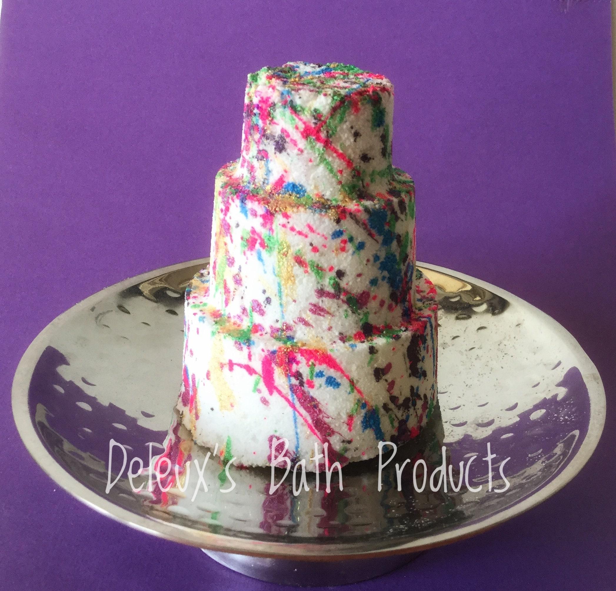 Cake Bath Bomb Birthday Celebration