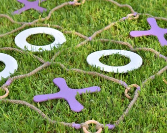 Tic Tac Toe yard game, Personalized game, Wedding game, Family game, Giant yard game, Yard game, Lawn game, Outdoor games
