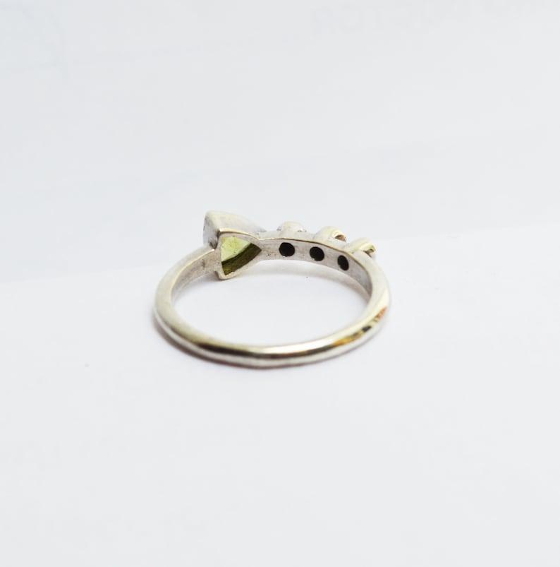 Multi Gemstone Ring Birthstone Ring Solitaire Ring Anniversary Ring Christmas Ring Women Gift Ring 925 Silver Ring Stacking Ring