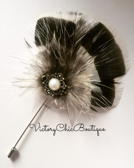"""Hat Pin Pearl Vintage Antique Silver Style 4.5/"""" /& Wedding Hats //Pin Protector"""