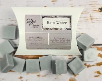 Clean Wax Fresh Wax Melt Wax Melt Sample Spring Wax Melt Rain Wax Melt Water Wax Melt Outdoor Wax Melt Rainwater Wax Melt Snap Bar