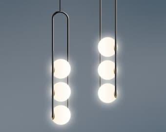 Minimalistische lampe etsy