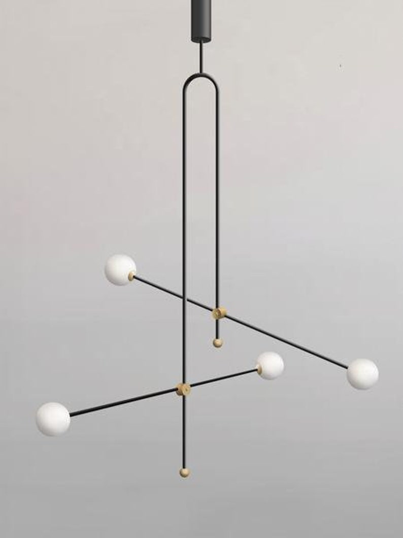 Xyz chandelier unique pendant lamp minimalist lamp gold pendant lamp scandinavian lamp design hanging lamp modern chandelier black lamp