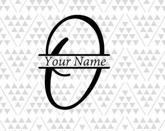Letter O Monogram Etsy