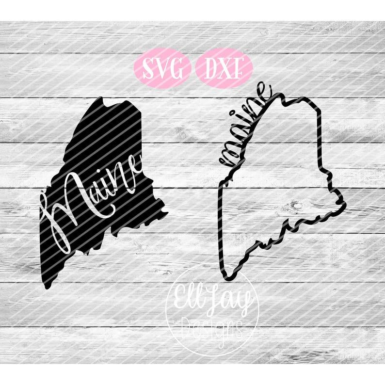 Maine State United States of America USA svg Fancy state svg State Svg svg bundle Maine state svg Maine outline svg state Maine svg
