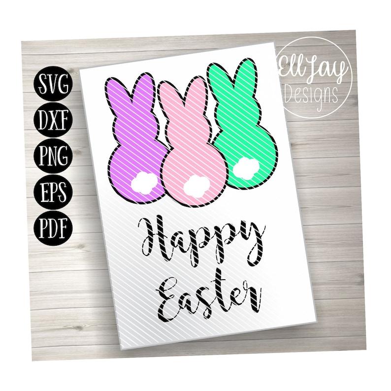 Easter svg Easter sign rabbit svg Easter Bunny svg bunny svg Happy Easter svg peep svg Easter file bunny tail svg Easter decoration