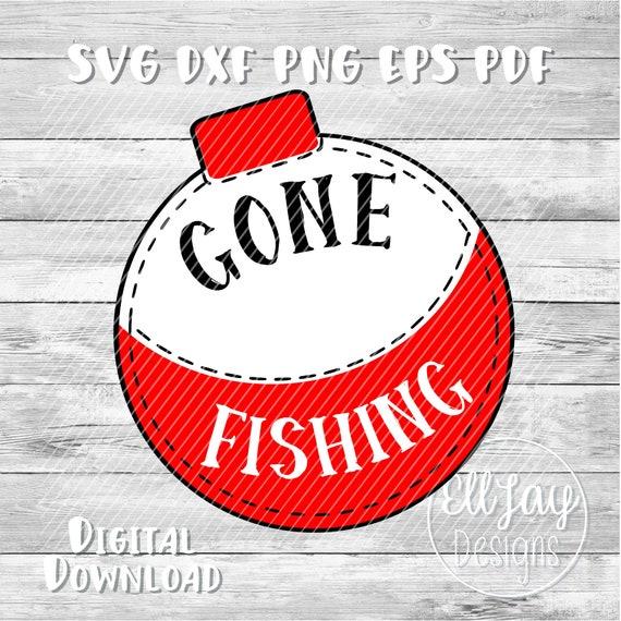 Download Fishing Svg Gone Fishing Svg Bobber Svg Fishing Clipart Etsy