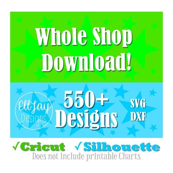 SVG Bundle, svg files, Cricut bundle, Silhouette bundle, Whole shop  download, huge svg bundle, big svg bundle, entire shop svg, all designs