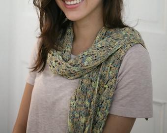 Teesdale Shawl Crochet Pattern by Rebecca Velasquez - RV Designs, Narrow Triangle Lace