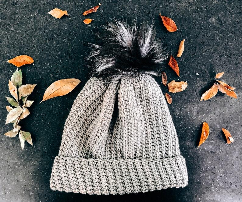 Crochet Pattern Jessie Slouch Beanie Hat by Rebecca Velasquez image 0