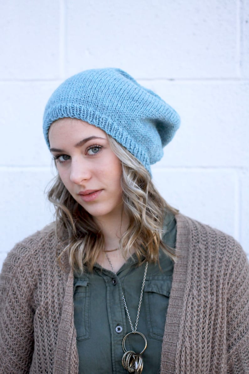 Knit Pattern Drama Hat by Rebecca Velasquez  RV Designs image 0